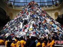 大部分的纺织品都可以被再生加工,发挥二次价值